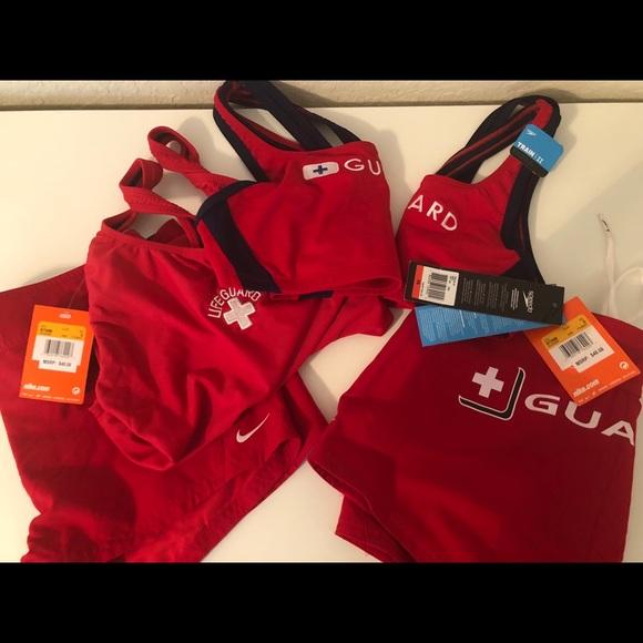 fa2e8344766b Lifeguard swimsuits and shorts. NWT. Nike